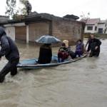 कश्मीर में फिर आई बाढ़ की आफत, अलर्ट जारी