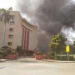 संसद परिसर में लगी आग, कोई बड़ा नुकसान नही
