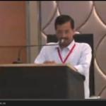 देखे राष्ट्रिय परिषद की बैठक में क्या बोले अरविन्द केजरीवाल