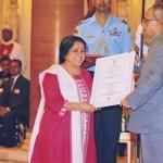 उत्तराखंड की डाॅ कु0 स्वराज ''नारी शक्ति पुरस्कार'' से सम्मानित