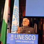 पढ़े : यूनेस्को में दिए प्रधानमन्त्री के भाषण का मूल पाठ हिंदी में