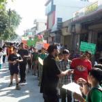 'मैड' संस्था ने गढ़ी कैंट से टपकेशवर मन्दिर तक रैली निकाली