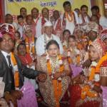 बालाजी सेवा समिति ने 10 निर्धन कन्याओं का विवाह कराया