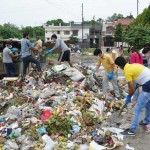 मैड ने सफाई यात्रा के तहत चलाया नेहरु कालोनी में सफाई अभियान