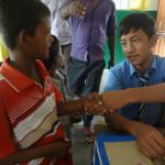 तिब्बती छात्रो और अपने सपने किड्स ने जाना एक दूसरे की संस्कृति को
