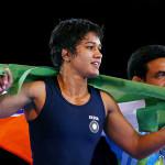 महिला कुश्ती खिलाड़ी बबीता कुमारी को अर्जुन पुरस्कार प्रदान किया गया