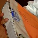 पीएम मोदी ने तोड़ा फ्लैग कोड 'ऑटोग्राफ वाला तिरंगा' देकर ?