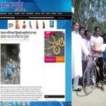 पहचान एक्सप्रेस का असर : नेशनल चैंपियन शमीम रजा को मंत्री द्वारा मिली मदद