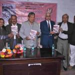 ''स्वाधीनता आंदोलन में उत्तराखंड की पत्रकारिता '' नामक पुस्तक का हुआ विमोचन