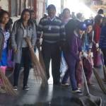 निरंकारी सेवादारों ने रेलवे स्टेशन पर की सफाई