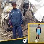 झोपडी में रहने को मजबूर फुटबॉल महिला खिलाड़ी सोनी