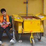 दिव्यांग ने उठाया समाज को जाग्रत करने का बीडा