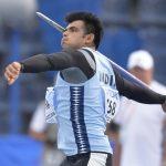एथलीट नीरज चोपड़ा को 10 लाख रुपये नकद पुरस्कार देने की घोषणा