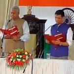 अरुणाचल प्रदेश में पेमा खांडू ने ली मुख्यमंत्री पद की शपथ