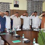 उत्तराखण्ड केबिनेट ने किया भारतीय सेना को सेल्युट