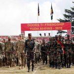 भारतीय सेना और अमेरिकी सेना का युद्ध अभ्यास 2016 का समापन
