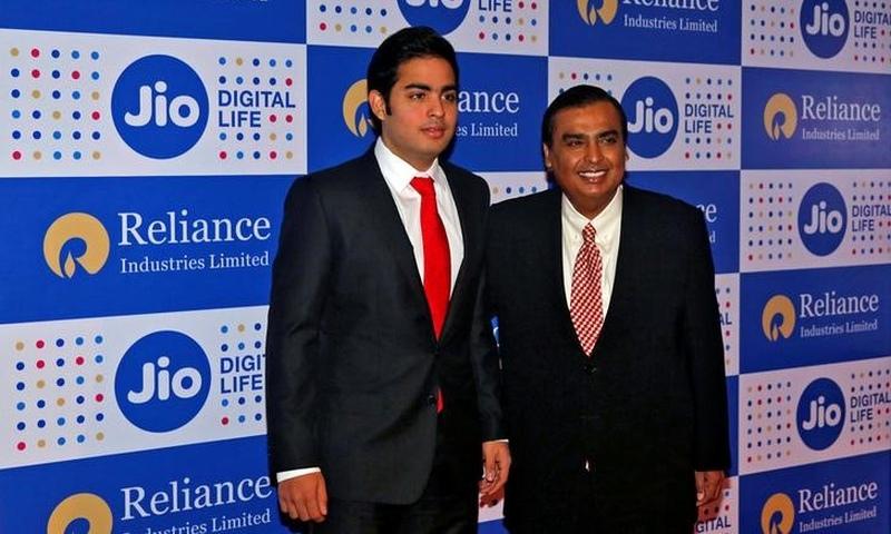 Mukesh Ambani, chairman of Reliance