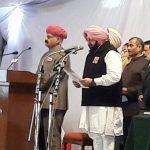 पंजाब : अमरिंदर सिंह मुख्यमंत्री पद की ली शपथ