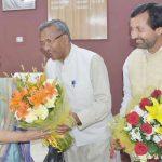 मुख्यमंत्री त्रिवेंद्र सिंह रावत ने नेता प्रतिपक्ष डॉ इंदिरा हृदेश की दी बधाई