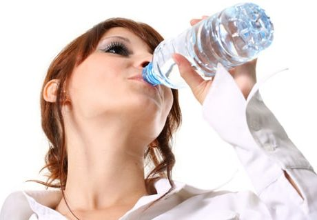 woman-drinking