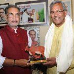 मुख्यमंत्री रावत ने केंद्रीय कृषि मंत्री से की मुलाक़ात