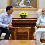 टॉयलेट- एक प्रेमकथा फिल्म को लेकर PM मोदी से मिले अभिनेता अक्षय कुमार