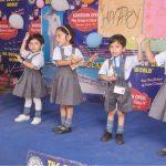 द दून लिटिल वर्ल्ड स्कूल के बच्चों द्वारा किया गया रंगारंग कार्यक्रम की प्रस्तुति