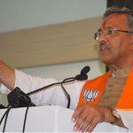 केन्द्र सरकार के अभूतपूर्व  कार्यो से विश्व पटल पर भारत का नाम हुआ है रोशन : सीएम