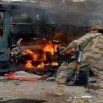 तेल टैंकर में आग लगने से 123 मरे, 80 घायल