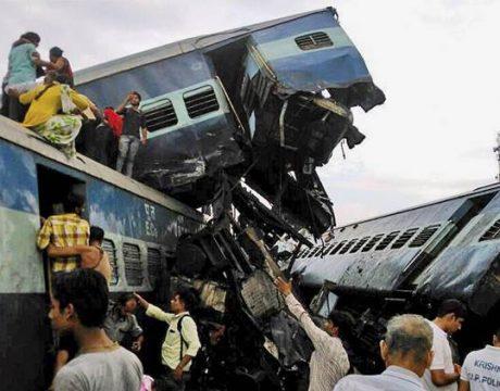 Puri-Haridwar Utkal Express derailment