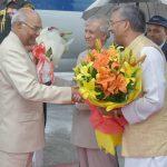दो दिवसीय दौरे पर राष्ट्रपति रामनाथ कोविंद पहुंचे उत्तराखंड