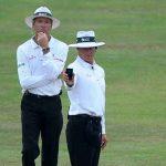 क्रिकेट में अम्पायर द्वारा खिलाड़ी को मैदान से बाहर भेजने का नियम लागू