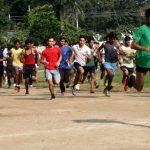 पांच हज़ार युवा सेना भर्ती के लिए लगाई दौड़