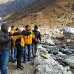 मुख्य सचिव उत्पल कुमार सिंह ने केदारधाम पुनर्निर्माण कार्यो का किया निरीक्षण