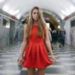 छात्रा ने मेट्रो स्टेशन पर क्यों उठायी अपनी स्कर्ट, जानिए खबर ….