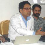 कैलाश अस्पताल के चिकित्सकों ने नरेंद्र राम को दिया जीवनदान