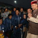 सीएम त्रिवेंद्र सिंह रावत ने दिव्यांग खिलाडियों का बढ़ाया हौसला