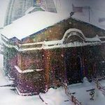 केदारनाथ में जबरदस्त बर्फबारी