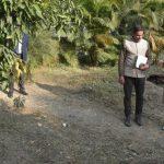 सीएम ने मुख्यमंत्री आवास स्थित उद्यान का किया निरीक्षण