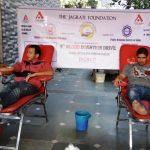 पब्लिक रिलेशन्स सोसायटी आफ इंडिया देहरादून चैप्टर द्वारा रक्तदान शिविर का आयोजन