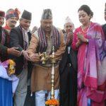 भारत नेपाल का सुख दुःख का है साथी : सीएम