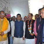 उत्तराखंड : भाजपा प्रत्याशी अनिल बलूनी ने नामांकन किया दाखिल