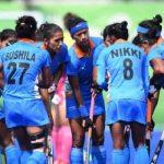 राष्ट्रमंडल खेलों के लिए भारतीय महिला हॉकी टीम का एलान