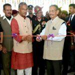 मुख्यमंत्री त्रिवेन्द्र सिंह रावत ने किया गढ़वाल राईफल्स के वार मेमोरियल एवं छात्रावास का उद्घाटन