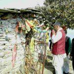 मुख्यमंत्री ने भराड़ी देवी मंदिर में की पूजा अर्चना