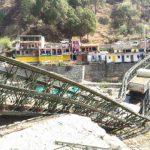 गंगोरी पुल दोबारा टूटने से गंगोत्री राजमार्ग बाधित