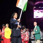 पीवी सिंधू ने कॉमनवेल्थ गेम्स की ओपनिंग सेरेमनी में दल की अगवानी
