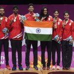 भारत को कॉमनवेल्थ खेलों में मिला तीसरा स्थान