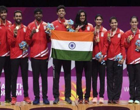cwg badminton-team