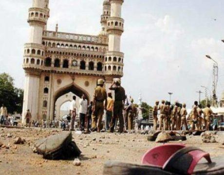 meeca masjid blast